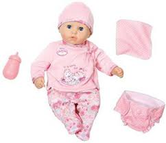 <b>Zapf Creation My First</b> Baby Annabell I Care for You Doll - My First ...