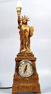 statue of liberty lamp united vintage working statue of liberty mantel clock lamp metal souvenir vintage statue of liberty lamp