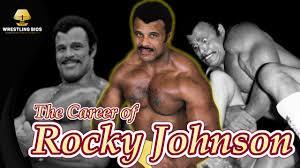 The Wrestling Career of Rocky Johnson - YouTube