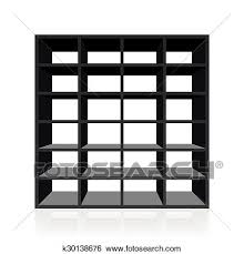 white book rack. Contemporary White Black Empty Rack Or Bookshelf With Twenty Four Cubbyholes Isolated Vector  Illustration On White Background And White Book Rack B