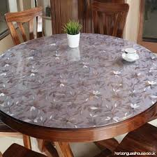 balle 1 5mm pvc transpa tablecloth protector desk pad soft glass dining table cover heavy duty