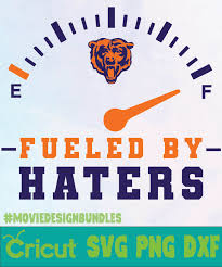 2449 logo vectors & graphics to download logo 2449. Chicago Bears Fueled By Haters Logo Svg Png Dxf Movie Design Bundles