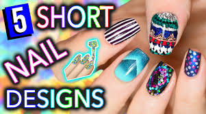 Art Designs 5 Easy Nail Art Designs For Short Nails Holosexuals Part 1