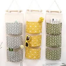 Cabinet Door Organizers Home 3 Pocket Storage <b>Hanging</b> Bag ...