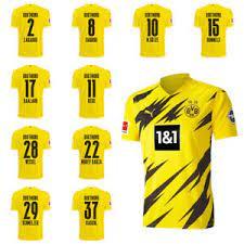 4.5 out of 5 stars (11) 11 reviews. Puma Borussia Dortmund Bvb Kids Home Jersey Shirt 2020 2021 W Player Name Ebay