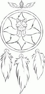 Small Picture Dream Catcher Coloring Pages jacbme