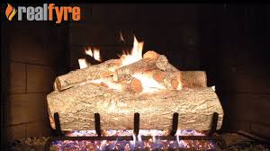 real fyre mountain birch white gas logs live burn efireplace you