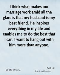 My Husband Is Best Quotes
