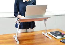 ergonomic portable standing desk for home design uk