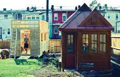 tiny houses in dc. day one of the build: 12x24 studio shed at boneyard studios, a tiny house community in washington d.c. #tinyhouse #studioshed #communityroom #works\u2026 houses dc
