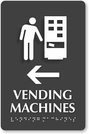 Vending Machine Signs Inspiration Vending Machine Symbol