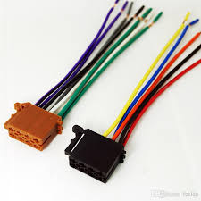 feeldo car audio stereo wiring harness for volkswagen audi mercedes factory wiring harness replacement feeldo car audio stereo wiring harness for volkswagen audi mercedes pluging into oem factory radio cd sku 1795 car tail car modification line audio and