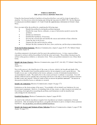 formal business report example sample formal business report an executive summary