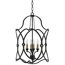 currey and company lighting fixtures. Currey \u0026 Company Lighting Charisma Lantern 9000-0024 - Wrought And Fixtures