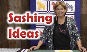 Quilt Sashing Ideas - Quilting Techniques - YouTube &  Adamdwight.com