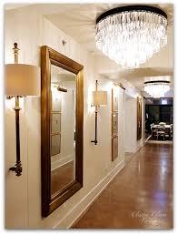 restoration hardware chicago gallery 3 arts club cafe hallway mirror chandeliers sconces restoration hardware99