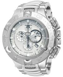 invicta men s swiss chronograph subaqua stainless steel bracelet invicta men s swiss chronograph subaqua stainless steel bracelet watch 50mm 12886