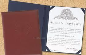 top grain leather certificate holder domestic