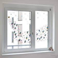 Pompon Schneeflocke Weihnachtsfensterdekoration Basteln