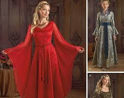Medieval Dress Patterns Inspiration Medieval Dress Pattern Etsy