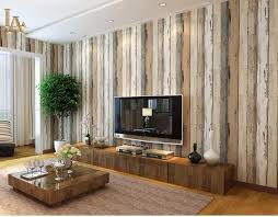 mediterranean vintage 3d textured wood striped wallpaper bedroom living room sofa home decor wall wood wall paper rolls