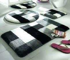 black bathroom mats black bathroom mats amazing beautiful bathroom rug sets best bathroom rug sets black