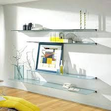 glass wall shelf decorative floating shelves on the wall floating glass shelves for elegant displays glass glass wall shelf