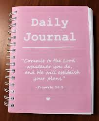 Daily Journal Planner Faith Fitness Fullness Journal Planner
