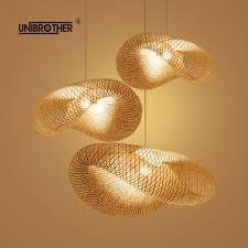 Asian Style Track Lighting Nordic Style Wooden Stick Decoration Log Country Kitchen