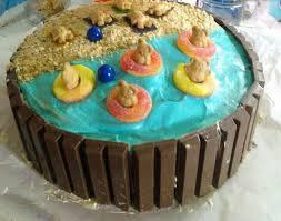 Swimming Pool Cake Designs Panuco