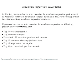 Supervisor Resume Sample Free Sample Resume Supervisor Retail For Warehouse Operations Manager