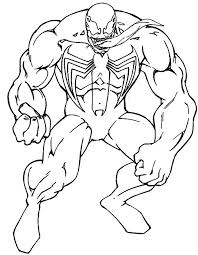 Small Picture Spiderman And Venom Coloring Book Coloring Pages Kids Fun Art