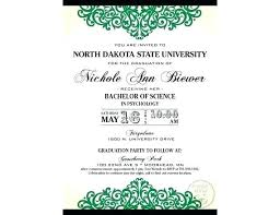 Formal College Graduation Announcements College Graduation Announcements Grad Invitations How To