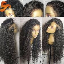 Brazilian Full Lace Human Hair Wigs With Baby Glueless Front For Black Women Water Wave Wig