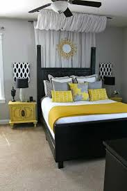 Black White And Yellow Bedroom Ideas 2