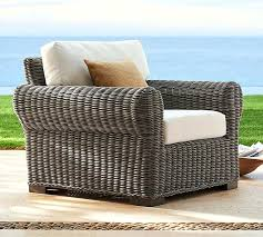 oversized patio chairs. All Weather Wicker Roll Arm Occasional Chair Gray Oversized Patio Chairs Outdoor H