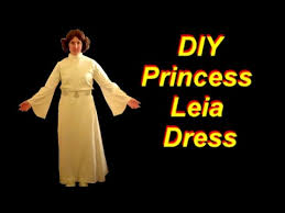how to make a princess leia costume part 2 the dress