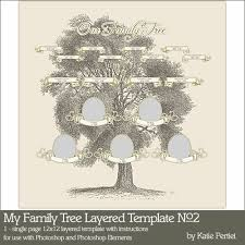 my family tree template my family tree layered template no 02 pertiet pse ps