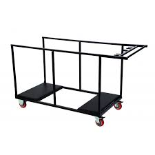 round folding table trolley 700