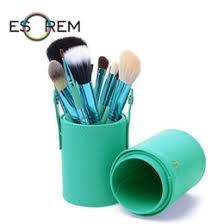 Leather Makeup Brush Case UK