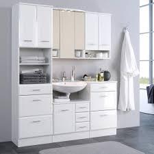 Badezimmermöbel Set Maja In Hochglanz Weiß Wohnende