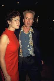 elizabeth vargas. vargas (l.) descrobes michael douglas (r.) as \u201cvery interesting elizabeth a