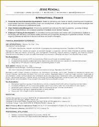 5 Financial Resume Sample Besttemplates Besttemplates