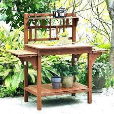 potting tables for garden potting table outdoor potting benches with storage garden potting table potting potting tables