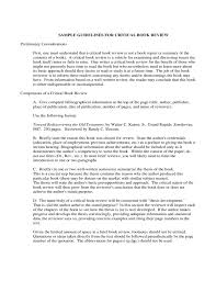 images of critical book review template net book review essay example