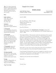 Professional Resume Cover Letter Samplesprofessional Resume Cover