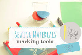 marking tools in sewing. sewing materials - marking tools: the shopping guide. tools in
