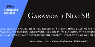 Garamond Designer Claude Garamond Myfonts