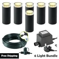 12v garden lights plug play garden lights bundle 6 light kit 12v garden lights australia 12v garden lights