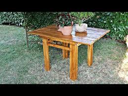 Tavoli Da Giardino In Pallet : Come costruire un tavolo in legno fai da te